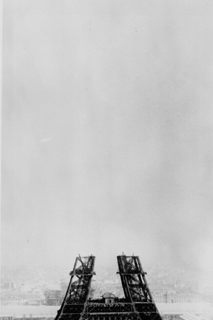 Eiffel Construction 5 Photographic Print by Henry Guttmann