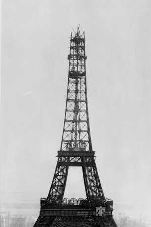 Eiffel Construction 9 Photographic Print by Henry Guttmann