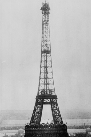 Eiffel Construction 11 Photographic Print by Henry Guttmann