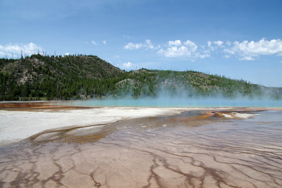 Grand Prismatic Spring Photographic Print by  nero