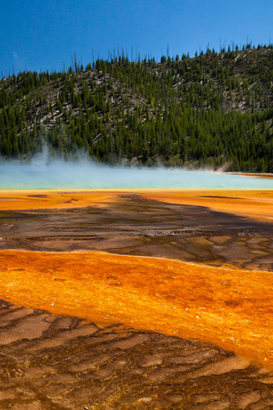 Grand Prismatic Springs Photographic Print by  jfunk