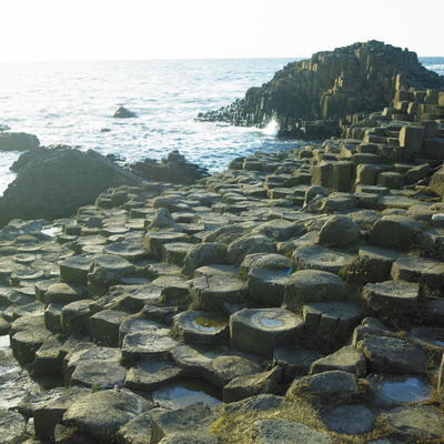 Giant's Causeway, County Antrim, Northern Ireland Photographic Print by  phbcz