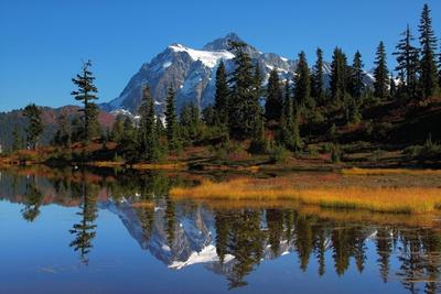 Mt. Shuksan Reflection Photographic Print by Jonkman Photography