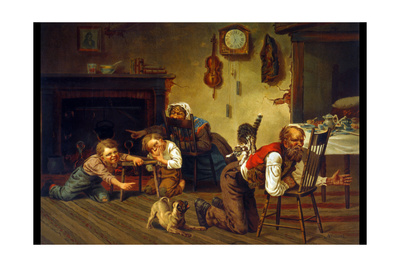 Enjoying the Commotion Prints by Archibald M. Willard