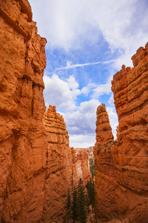Usa, Utah, Bryce Canyon, View of Cliffs Photographic Print by Daniel Grill