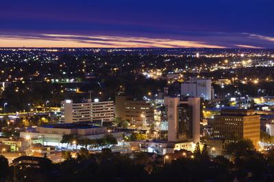 Rapid City, South Dakota, City View Photographic Print by Walter Bibikow