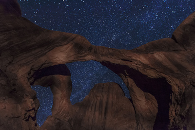 Stars over Double Arch Photographic Print by Hansrico Photography