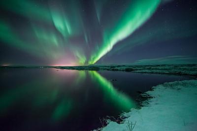 Green Streak Photographic Print by Friðþjófur M.
