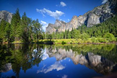 Yosemite Reflection Fotografisk tryk af Philippe Sainte-Laudy Photography