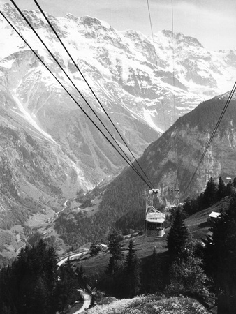 Cable Car Photographic Print by S. Kuhn