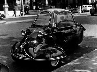 Messerschmitt Car Photographic Print by Fox Photos