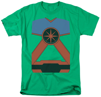 Justice League - Martian Manhunter Costume Tee Shirts