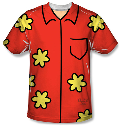 Family Guy - Quagmire Costume Tee Sublimated