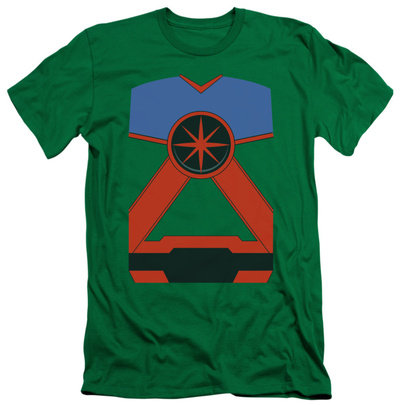 Justice League - Martian Manhunter Costume Tee (slim fit) Shirt