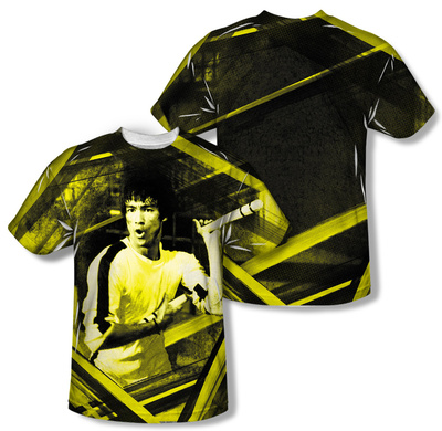 Bruce Lee - Stripes (Front/Back Print) Sublimated