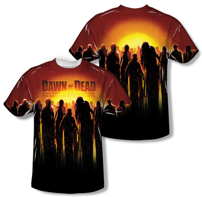 Dawn Of The Dead – Swarm (Front/Back Print) T-Shirt