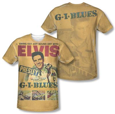 Elvis Presley - GI Blues (Front/Back Print) Sublimated