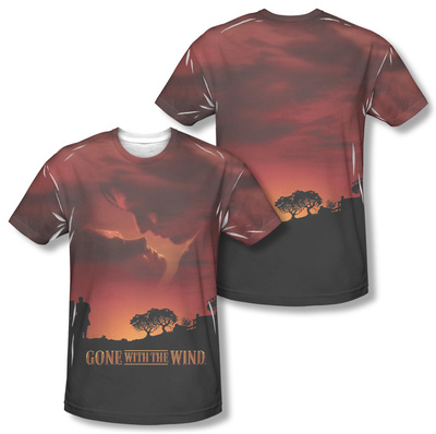 Gone With The Wind - Sunset (Front/Back Print) Sublimated