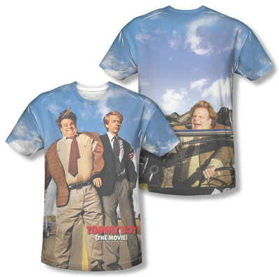 Tommy Boy - Poster (Front/Back Print) T-Shirt