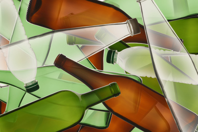 Collage of Bottles Photographic Print by Paul Taylor