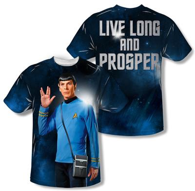 Star Trek - Live Long (Front/Back Print) Shirt