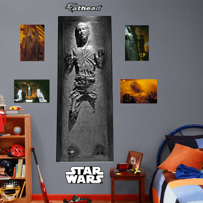 Han Solo trapped in carbonite Fathead giant wall decal Jabba the hutt Episode 2, V The Empire Strikes Back bedroom science fiction wall decor decoration