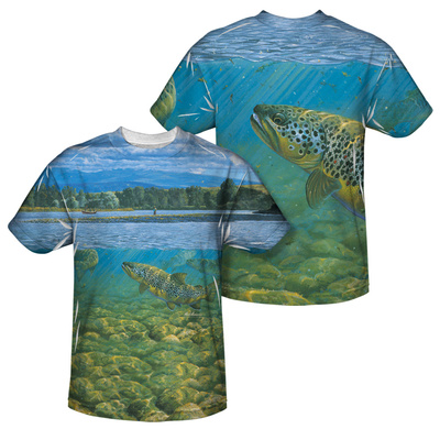 Wild Wings - Bighorn River (Front/Back Print) Sublimated