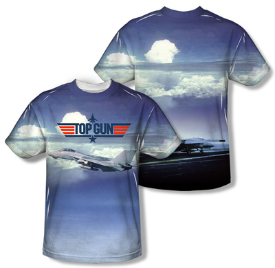 Top Gun - Take Off (Front/Back Print) T-shirts