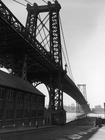 Williamsburg Bridge Photographic Print by Frederic Lewis
