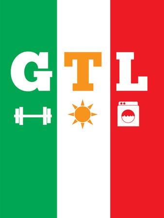 Jersey Shore GTL (Gym, Tan, Laundry) Bilder