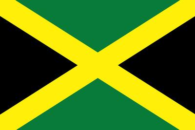Jamaica National Flag Poster