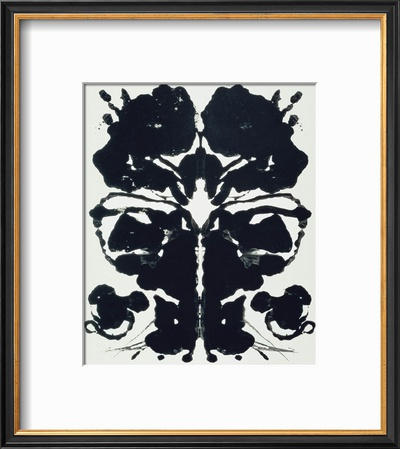Rorschach Prints by Andy Warhol