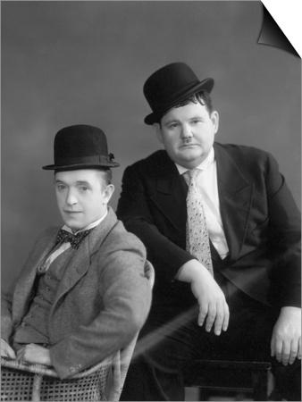 Oliver Hardy, Stan Laurel Print