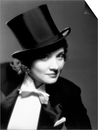 Marlene Dietrich, 1930 Poster