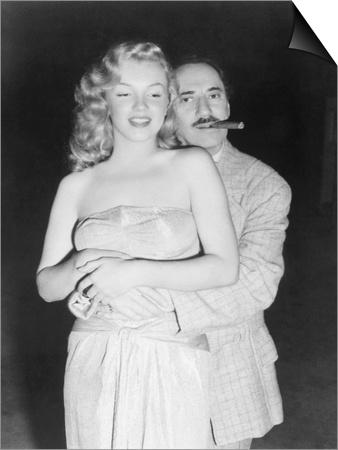 Marilyn Monroe, Groucho Marx, Love Happy, 1949 Posters