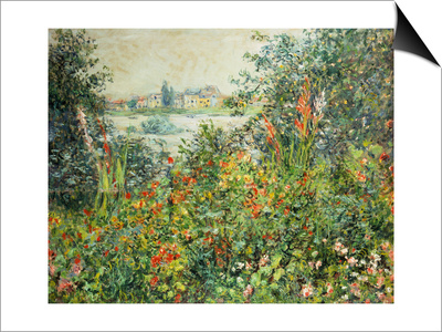 Flowering Meadow, Vetheuil, 1880 Prints by Claude Monet