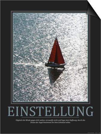 Einstellung (German Translation) Prints