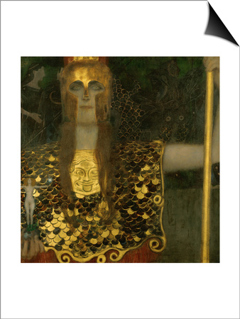 Pallas Athene, 1898 Poster by Gustav Klimt!
