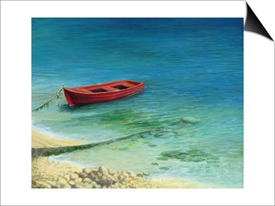 Fishing Boat In Island Corfu Posters by  kirilstanchev