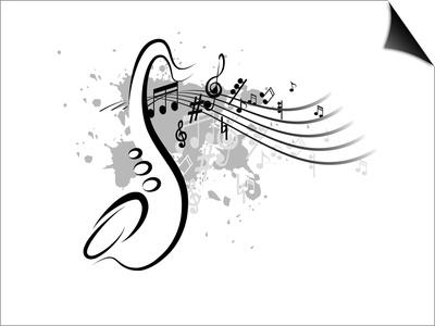 Musical Prints by  buket_gvozdey