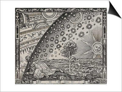 The Sun, Moon and Stars Prints by Camille Flammarion