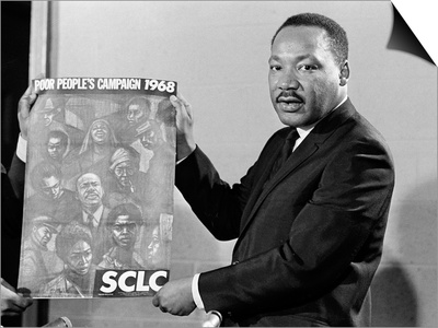 MLK Poor Peoples Campaign Poster 1968 Posters by Horace Cort