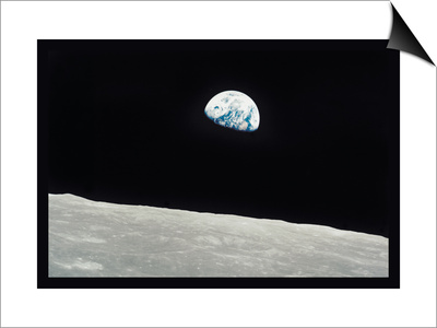 Earth Rise Posters