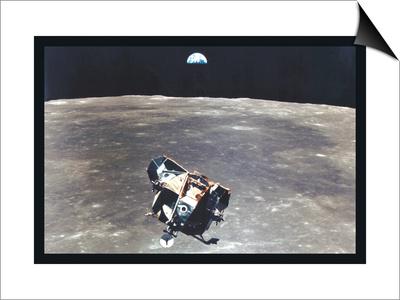 Apollo 11: Eagle Ascent Prints