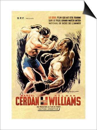 Cerdan vs. Williams Poster