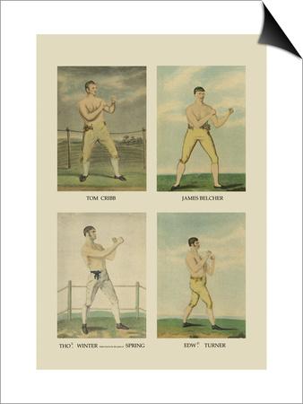 Punching Quartet Posters