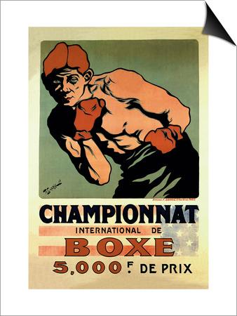 International Boxing Championship Prints