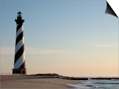 Cape Hatteras Lighthouse at Sunrise Art by Joseph Sohm