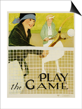 Play the Game Posters by Lucile Patterson Marsh