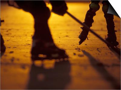 Street Hockey Posters by Lee Kopfler